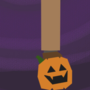 a very spooky skelington
