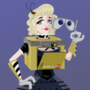 Gothic WALL-Eta cosplay