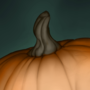 Pumpking with a nipple
