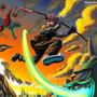 Fight at dawn by keyeske