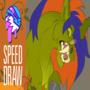 SPEED DRAW | 🎃 | Monster Unicorn | FEARDAKEZ