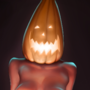 Another pumpkin lady