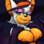 Batwitch Bust by BatArtCave