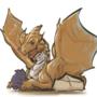 Bad Joke Copper Dragon