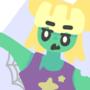 halloween zombie girl