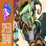 SPEED DRAW   🎃   Elli Witch   FEARDAKEZ
