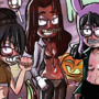 louise,connie,toph cosplay halloween