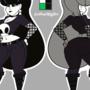 Lindel Dollice Quilten: Character Model Sheet