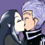 Vergil x Lilith kiss