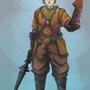 Blueblood swordsman by FortressRubbish