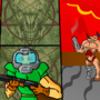 Cyberdemon Attacks ! by reymonoFF