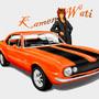 Kamen and The Camaro by FiraPhoenix