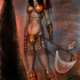 warrior girl by ramymagdy