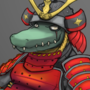 Middle-aged Metamorphed Samurai Croco