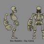Billy Skeleton - Model Sheet