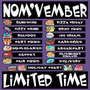 NOM'VEMBER Commissions Special ($30 color, 1 character)