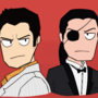 The Dragon of Dojima and The Mad Dog of Shimano