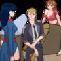 Characters visual novel Insurance Agent