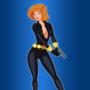 Anne Possible Black Widow