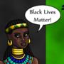 Itaweret Says Black Lives Matter!