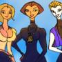 Selma, Sarah, and Cloi