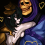 skeletor x crystal omg