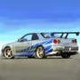 Nissan Skyline GTR from 2 Fast 2 Furious