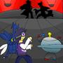 Cobalt vs. Cynthia by Flashcard-Man