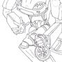 Custom Transformer, Robot Mode by Holmfry