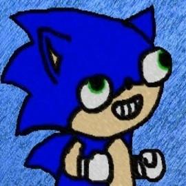 Sonic Derp By Biosfreak On Newgrounds