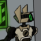 Funny robot guy