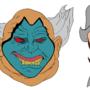 Character Head Flats