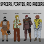 Spacers Uniform Sheet