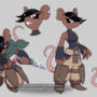 Brynza the Ratfolk Rogue - Reference