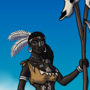 Shaman of the Middle Stone Age