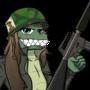 [commission] Charki croc with a gun