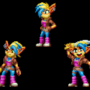 Tawna Bandicoot Sonic Mania Edition