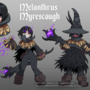 Melanthrus Myrescough - Reference