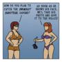 Invisible Men and Divisible Bikinis