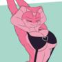 Kyara stretching