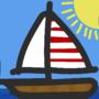 Sailboat (using Adobe Illustrator 2021)