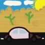 "Car in ""sahara desert"" (using adobe illustrator 2021)"