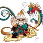Sun WuKong, the monkey king! by FUJIMON