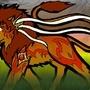 Fire Lion by LynxIeles