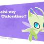 Celebi Valentine by Sabtastic