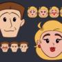 Papa Chan and Mama Chan Emojis