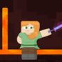Alex Minecraft in Da Nether