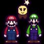 Mario Starlow and Luigi Custom Sprites