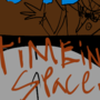 Luis's toons poster - time in space