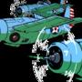 The Gallant Wildcat ワイルドキャット F4F